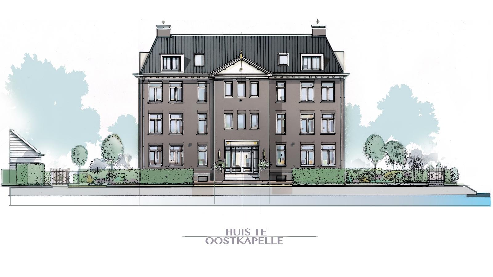 Nieuwbouw Huis te Oostkapelle
